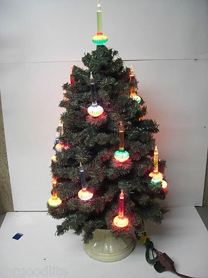 43 Best Vintage Christmas Table Top Lighted Trees Images