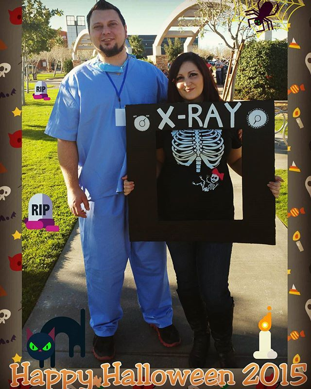 Pin for Later: 12 Spirited Halloween Pregnancy Announcements Ideas For Revealing Your Little Pumpkin