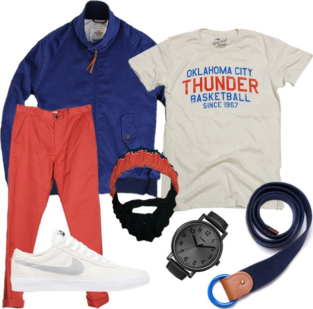 Garb: Thunder: Garb Style, Men Clothing, Okc Thunder, Style Garb, Men Outfits, Men Fashion, Halloween Outfits, Belts Style, Fashion Stuff