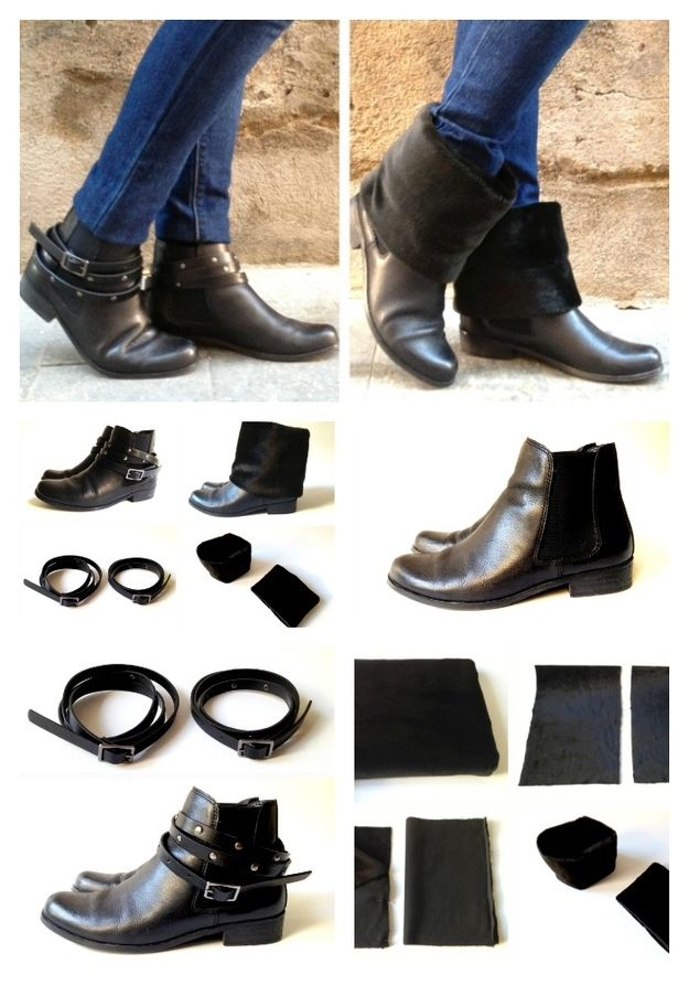 Two in One /  14 DIY Boots That Were Made For Walking (via BuzzFeed)