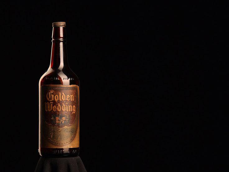 Old whiskey bottle