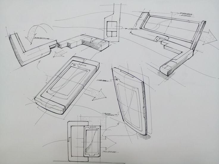 Mobile phone sketch