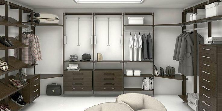 Grandes soluciones en closet permitiendo componer tu propio vestidor, optimizar el espacio y conseguir una organización totalmente adaptada a tus necesidades.