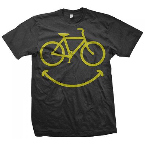 Smiley Bike T-Shirt www.liquidtshirts.com