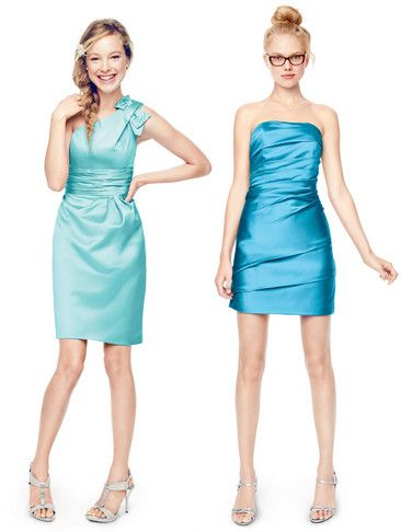 Match your 'maids to tropical waters with colors like Pool and Malibu by David's Bridal. #beachweddings #davidsbridal: Check, Bridesmaid Dresses, Colors, Bridesmaid Shit, Bridesmaid Ideas, I'M, Public, Pools