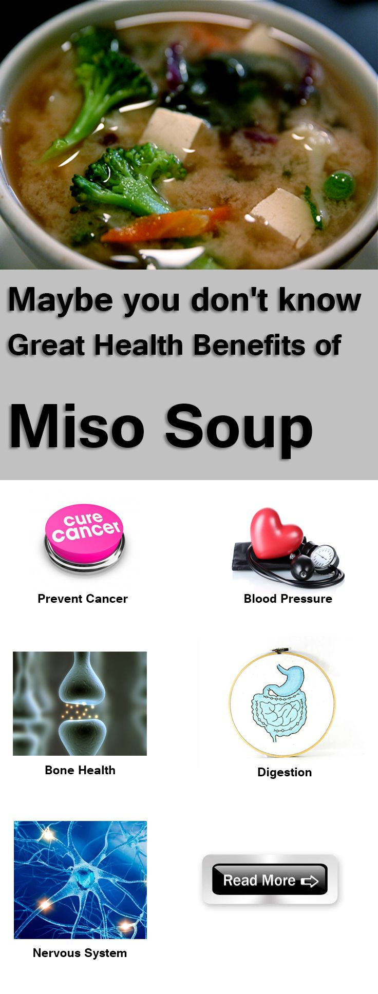 Mayby you don's know Great Health Benefits of Miso Soup