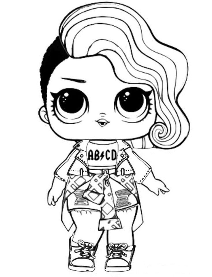 Lol Surprise Dolls Coloring Pages Print Them For Free All The Series Lol Dolls Cool Coloring Pages Cute Coloring Pages