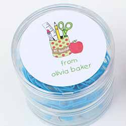Teachers Personalized Gift Stickers