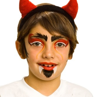 1000 images about face paint devil on pinterest  devil