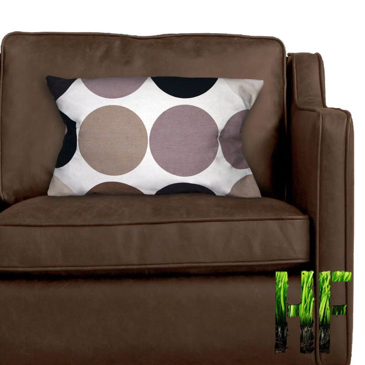 Pair of spotted cream & brown cushion covers by TheHomelessFarmer on Etsy https://www.etsy.com/uk/listing/223651278/pair-of-spotted-cream-brown-cushion