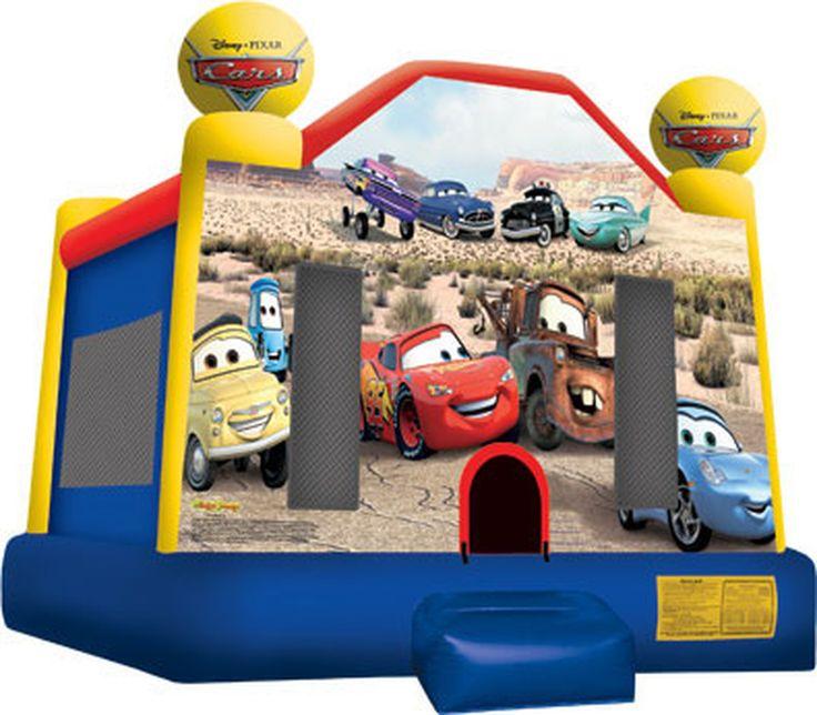 Cars bounce house full face