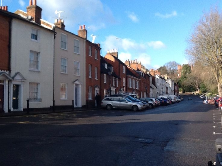 Farnham town in the sun!