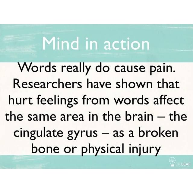Watch those words! They can hurt and show what you are really thinking!