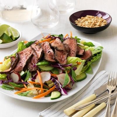 Asian Grilled Beef Salad | Enjoy~ Eat And Taste~*~ | Pinterest