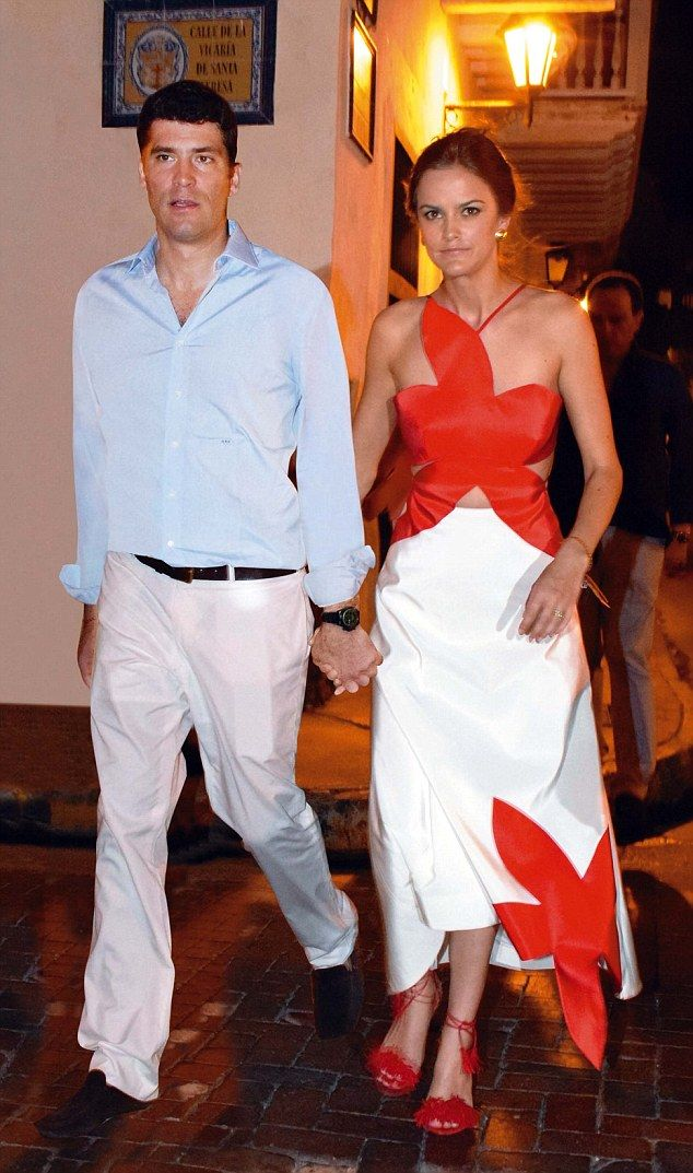 Lady Charlotte Wellesley, 23, daughter of the Duke of Wellington and her fiance the New York based financier Alejandro Santo Domingo, 39, have thrown a three-day celebration for family and friends in Colombia, attended by the president Juan Manuel Santos