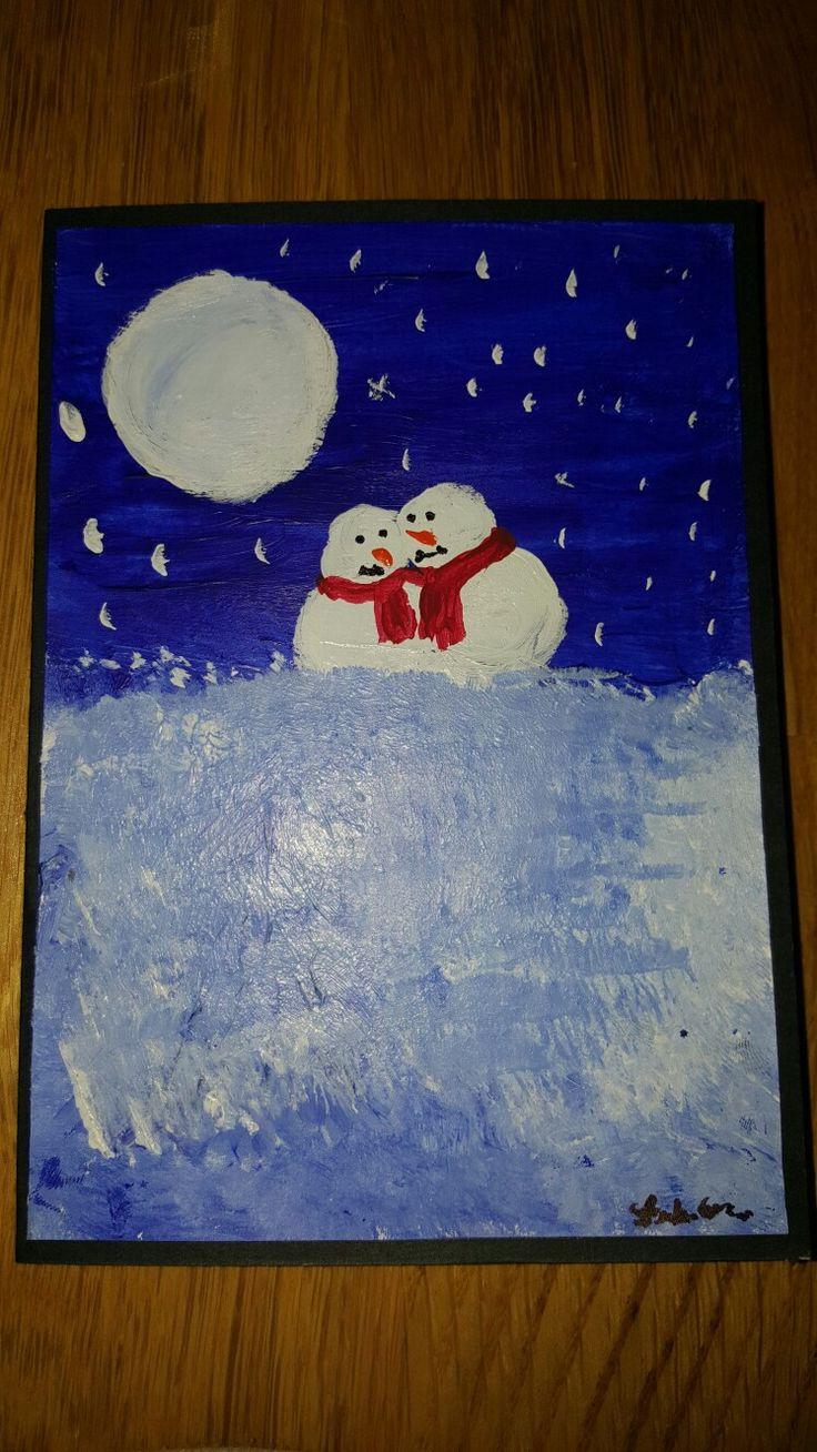 Snowman man ❤ my love