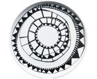 UTGÅR 31/12  Burkina assiett 19 cm  Ca pris: 149 SEK