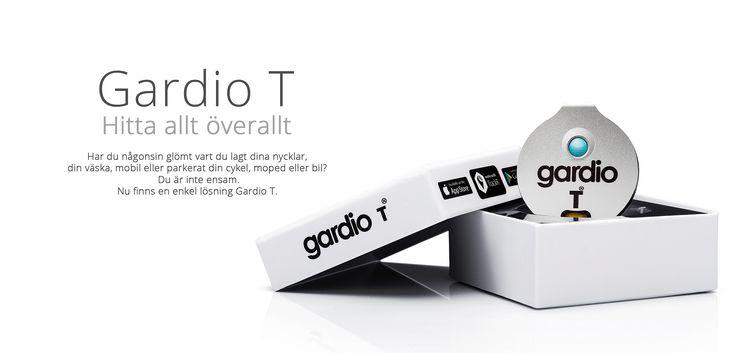 Gardio T är den nya gps-sändaren som du placerar på de saker du värdesätter högst. Du kan sätta den i din nyckelknippa så blir du aldrig av med den!