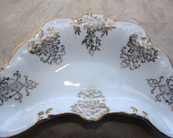 3 Hand Painted Candrea decorative dishes