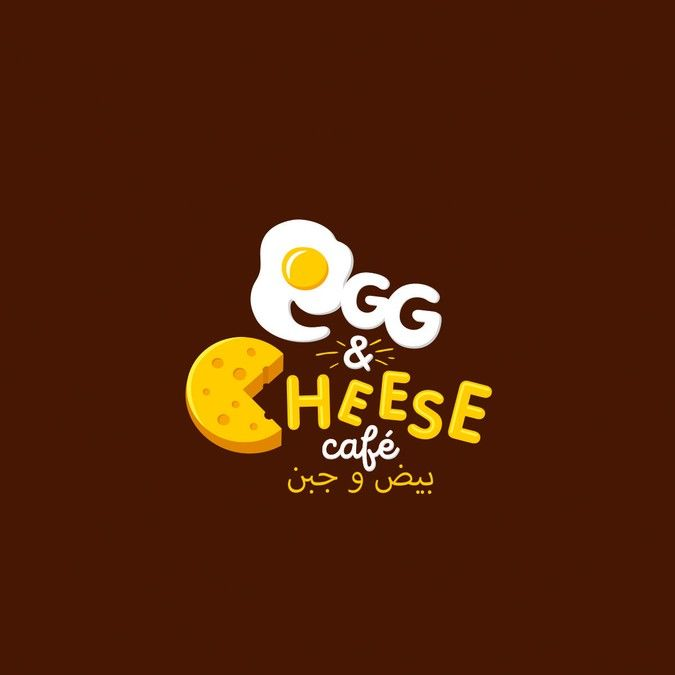 design logo for Egg and cheese cafe by Dmitry Li