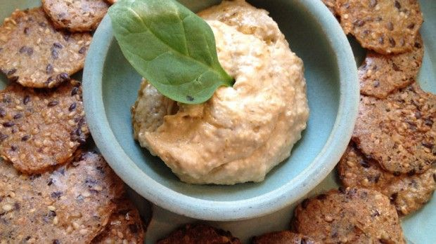 Spicy Chipotle Hummus Recipe #pinwinblend