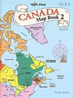 Canada Map Book 2 - Grade 3-4 - Northwoods Press