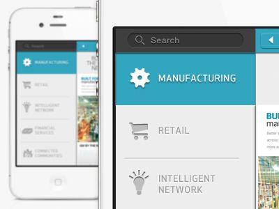 UltraUI   UI Design & Inspiration — 'Mobile UI' by Matt Carvalho