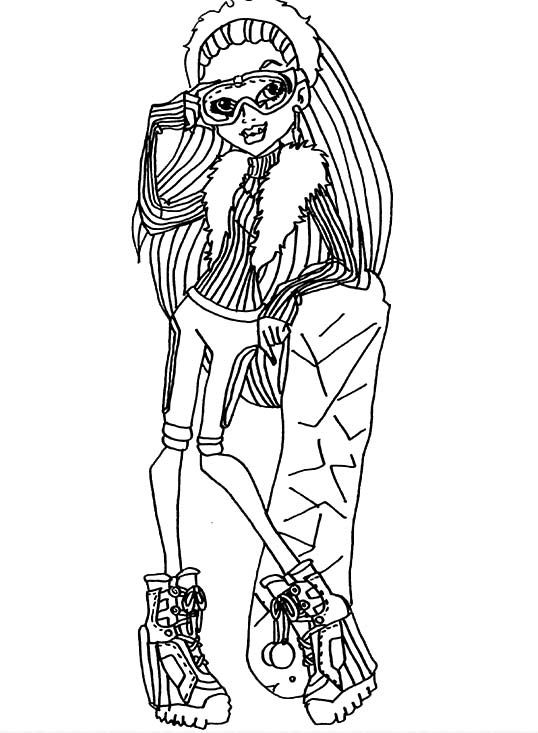 80 best monster high images on pinterest costumes, drawings and Monster High Boys Coloring Pages Monster High Cleo Coloring Pages Monster High Abby Coloring Pages to Print