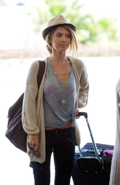 Maybe not the hat.....Audrina patridge style
