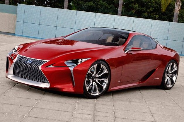 Lexus LF-LC super coupe concept pondered for production