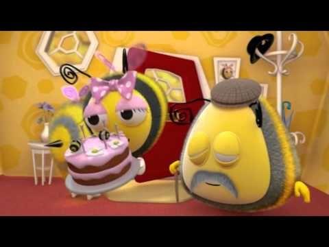 Мультики для детей М+: Пчелиные истории - День рождения, 9 серия - YouTube