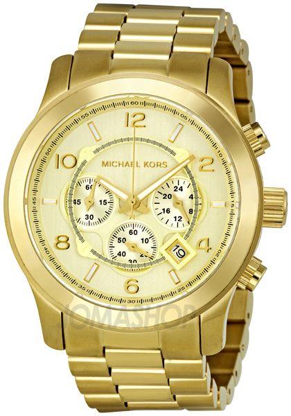 Michael Kors Gold-tone Mens Watch MK8077
