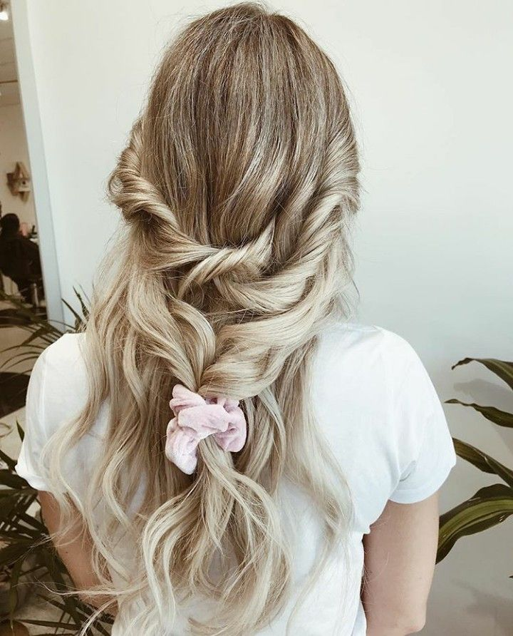 Girly Hairstyle Hair Styles Bohemian Hairstyles Bohemian Style Girl