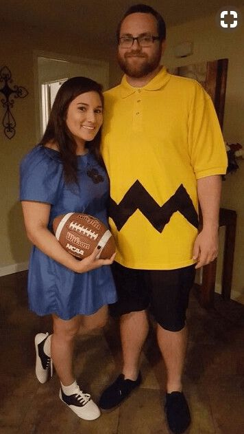 Couples Halloween Costumes: Charlie Brown & Lucy