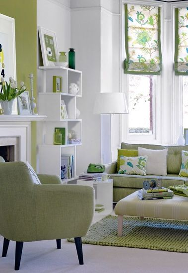 Love The Pattern And Colors In This Living Space