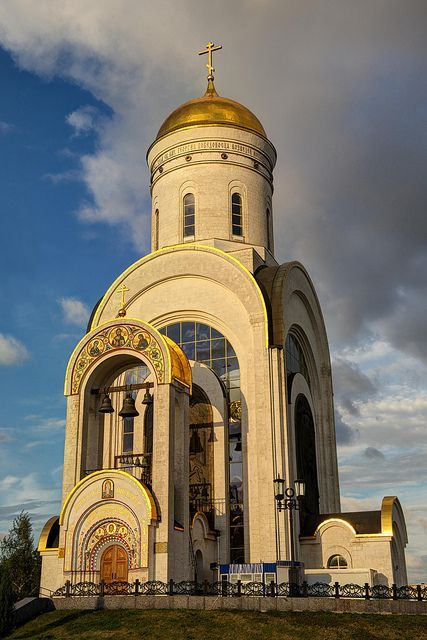 Poklonnaya Hill, Church of St. George the Victorious, Moscow, Russia
