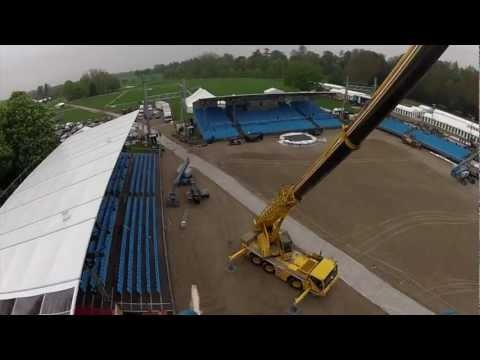 Diamond Jubilee Pageant - Construction Time Lapse Part 2