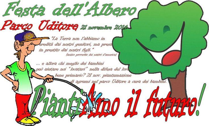 """21 nov. 2014 """"PiantiAmo il futuro!"""""""