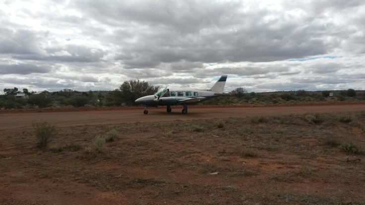 Our taxi home from Tarcoola SA.