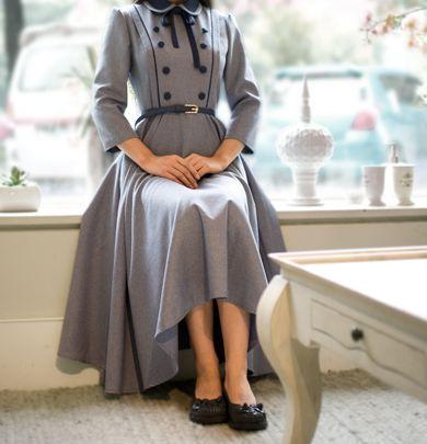 Винтажное длинное платье / Vintage long dress
