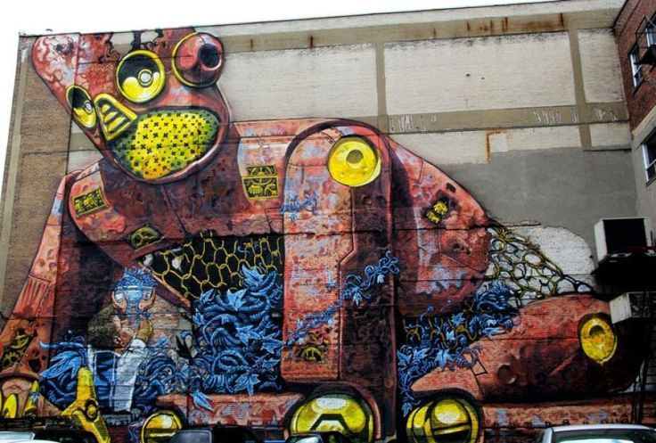 25 Street Artists From Around The World Who Are Shaking Up Public