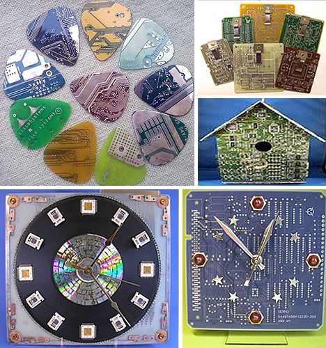 Crafty high-tech recycling projects