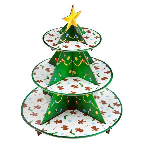 Christmas Tree Cupcake Stand | Poundland 2012. Check out our 2013 range by clicking the image.