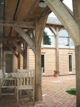 Oak verandah
