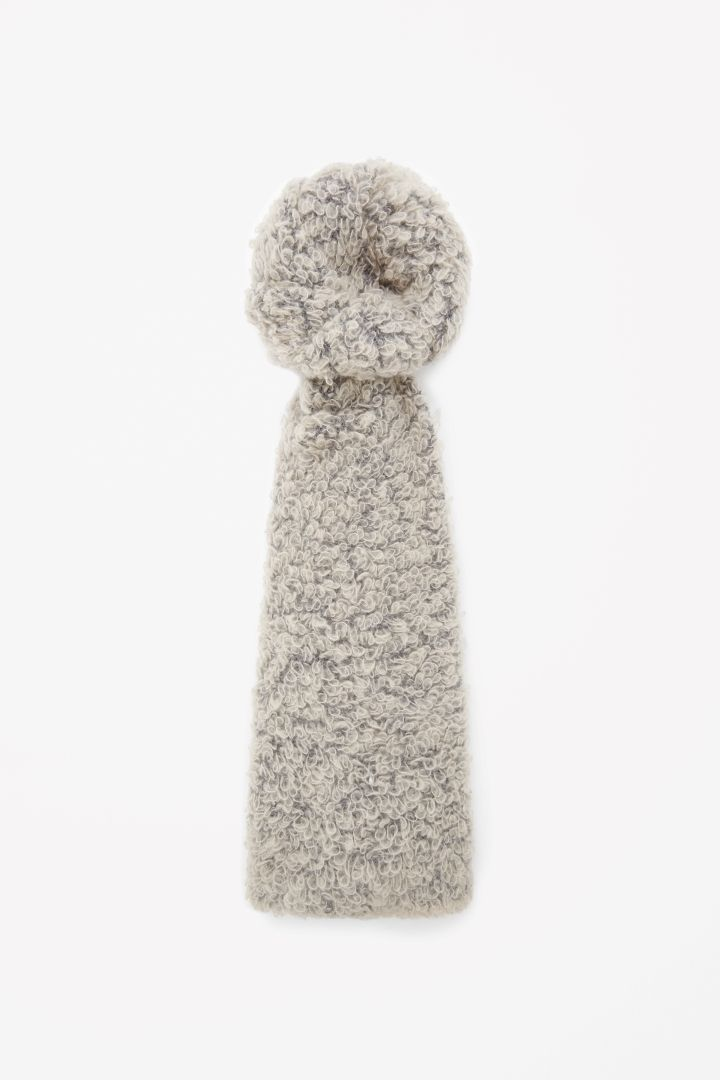 COS | Curly wool scarf