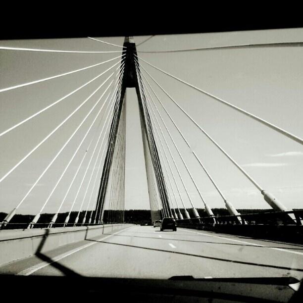 Uddevalla bridge in Sweden.