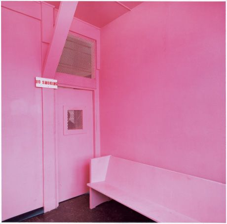 Baker-Miller Pink is now the official name of the paint that can be mixed as follows: R:255, G:145, B: 175.