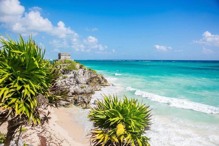 Tulum beach Mexico.
