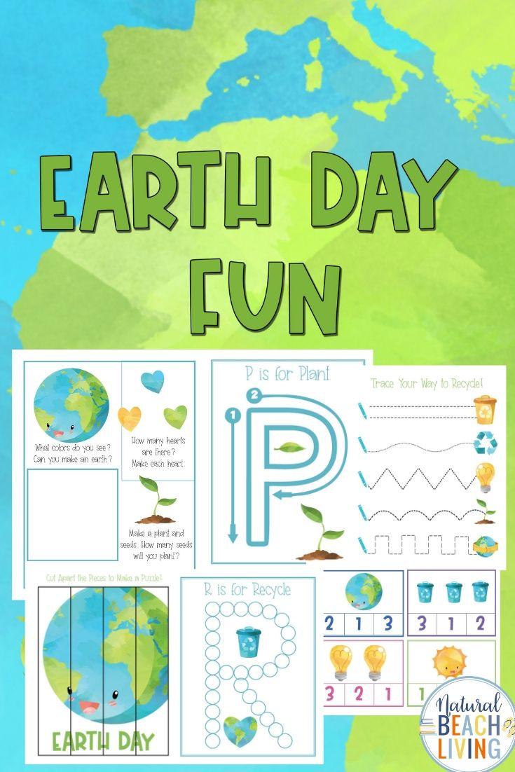 Earth Day Preschool Activities Pack Natural Beach Living Earth Day Preschool Activities Preschool Activities Kindergarten Learning Activities [ 1102 x 735 Pixel ]