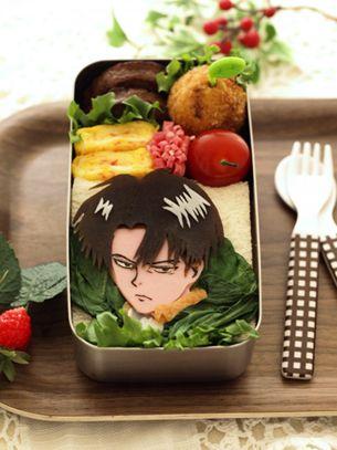 Levi Bento~ || Attack on Titan Shingeki no Kyojin Bento Lunch Food Levi Ackerman